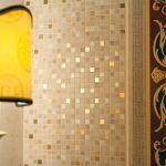 aukso spalvos mozaika