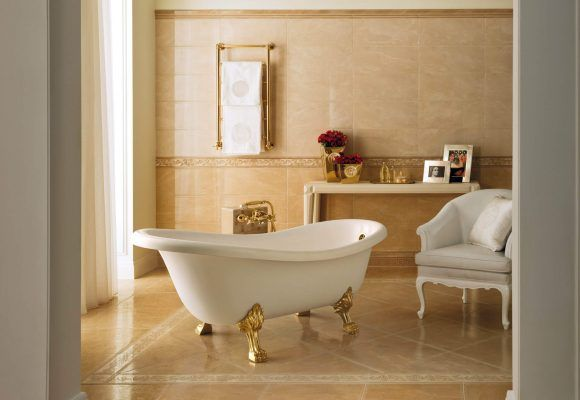 Versace vonios plyteles