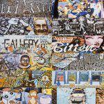 Graffiti plyteles