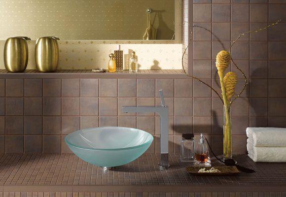 vonios sienų mozaika