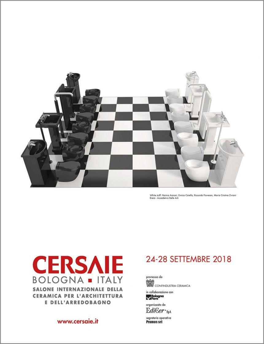 CERSAIE 2018 –  tarptautinė keraminių plytelių ir vonios baldų paroda Bolonijoje (Italijoje)