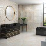 Ispaniškos vonios plytelės Aparici Monaco