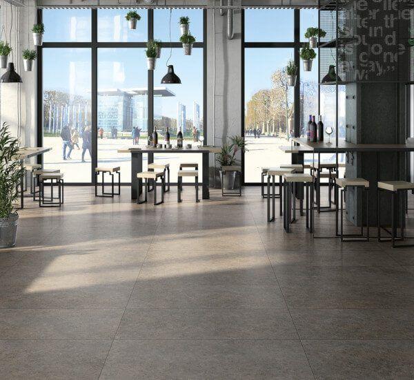 Akmens masės grindų plytelės Ecostone