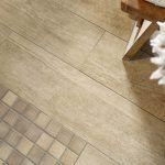 Medienos imitacijos mozaika plytelės
