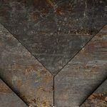 Metalo imitacijos sienų plytelės