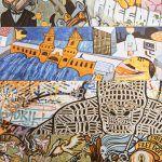 Graffiti sienų plytelės