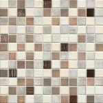 Medienos spalvos mozaika plytelės