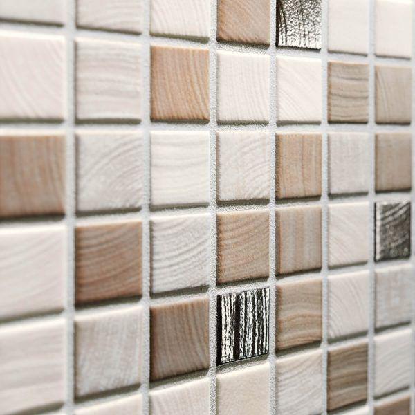 Medienos mozaika Senja Pure